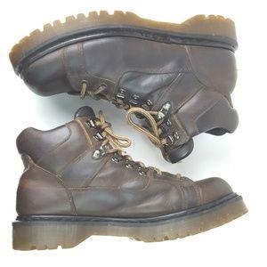 DR. MARTENS|VTG Brown Ankle Hiking Boots Size UK12